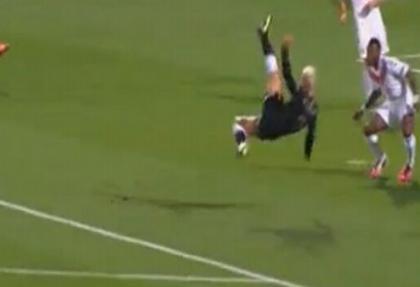 Lyon'u rencide eden süper gol