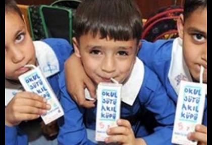 Okul Sütü Programı 2 yıl uzatıldı