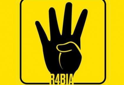 Rabia işaretli direnişe destek kampanyasına yoğun ilgi