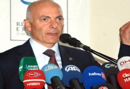 RTEÜ Rektörü Prof. Dr. Yılmaz istifa etti