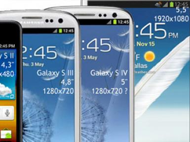 Samsung Galaxy serisi model yeniliyor!