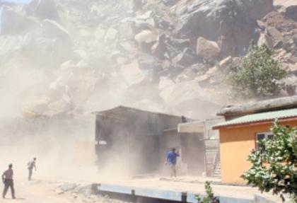 Taş ocağında patlama: 1 işçi kayıp, 1 işçi yaralandı