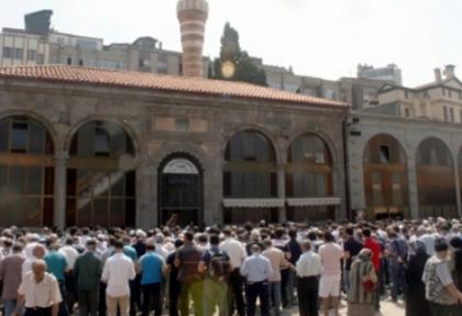 Trabzonlular, Mısır'da katledilenler için gıyabi cenaze namazı kıldı