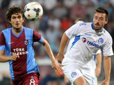 Trabzonspor - Dinamo Minsk maçının istatistiki analizi!