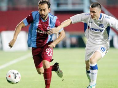 Trabzonspor - Dinamo Minsk maçı özeti burada!