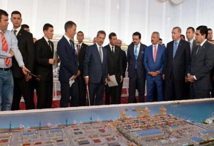 Türkmenistan'ın en büyük limanını Gap yapacak