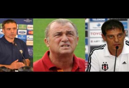 Üç büyüklerin teknik direktörlerinin ruh halleri