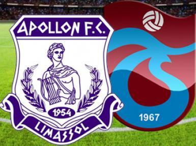 Apolon Limassol Trabzonspor maçında 2 gol - Canlı Anlatım