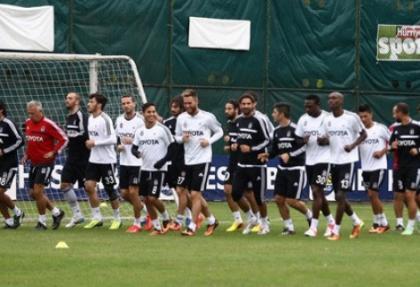 Beşiktaş Antalya hazırlıklarını tamamladı