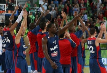 Fransa Avrupa Basketbol Şampiyonası'nda finale yükseldi