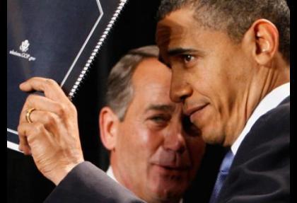 Obama ve Boehner bütçe savaşına hazırlanıyor