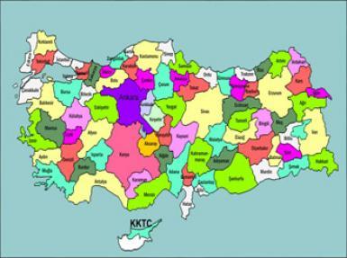 turkiye'de butun sinirlar degisiyor