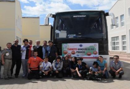 Üniversite öğrencilerinin Türkiye yolculuğu