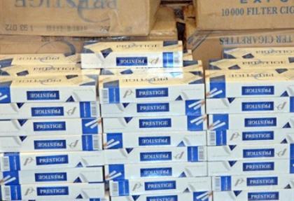 Van'da 650 bin paket sigara ele geçirildi