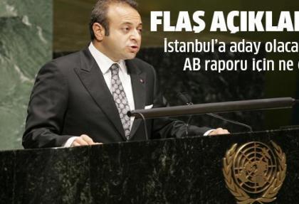 Avrupa Birliği Bakanı ve Başmüzakereci Egemen Bağış, AB İlerleme Raporu'na ilişkin açıklama yaptı