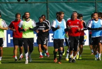 Beşiktaş, Akhisar Belediyespor maçına hazır