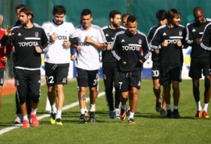 Beşiktaş, ara vermedi