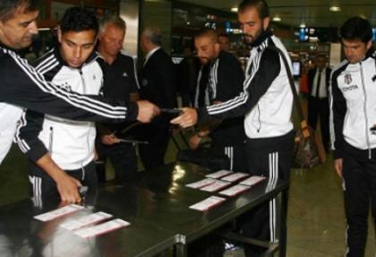 Beşiktaş, iki önemli oyuncusundan yoksun Eskişehir'e gitti