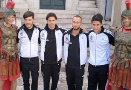 Beşiktaşlı futbolcular, Split'i gezdi