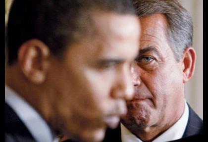 Bütçe krizinde Obama ve Boehner karşı karşıya