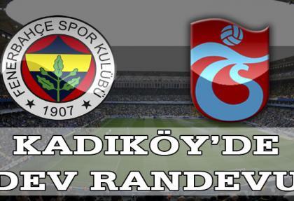 Fenerbahçe-Trabzonspor derbisi ilk 11'ler