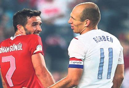 Gökhan'dan Robben'e ilginç sitem
