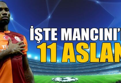 Juventus-Galatasaray maçının ilk 11'i