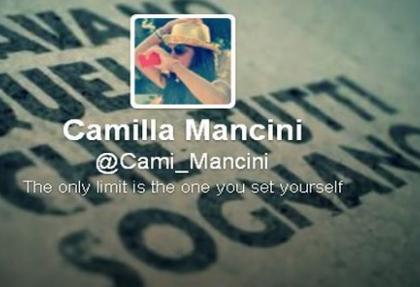 Mancini'nin kızı Camilla'dan İstanbul twiti