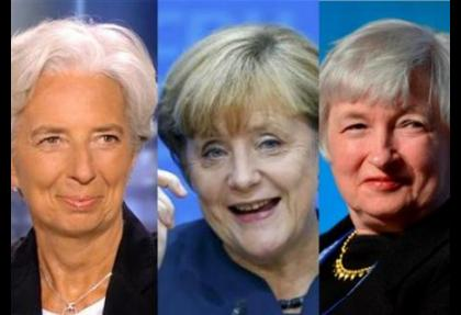 Merkel out Yellen in