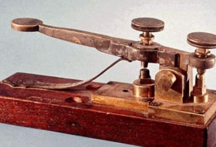 'Telgraf da teknolojiye yenik düştü, stop!'