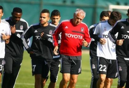 Beşiktaş'ta Kayserispor maçı hazırlıkları
