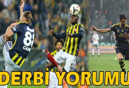 Fenerbahçeli futbolcular derbiyi yorumladı