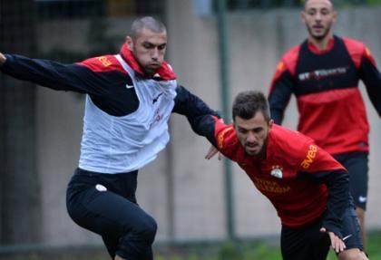 Galatasaray Sivasspor maçı hazırlıklarını sürdürdü