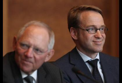 Weidmann Schaeuble'nin yerine mi geçecek?