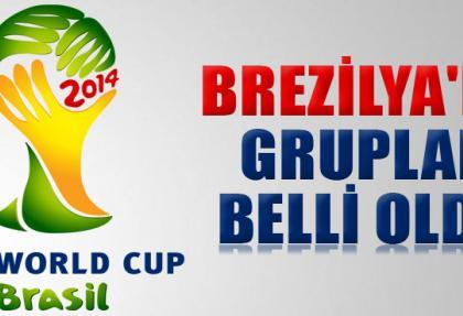 2014 Dünya Kupasında gruplar belli oldu