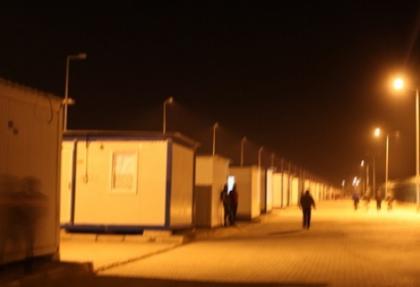 7 bin 600 kişilik konteyner kentte kış hazırlığı