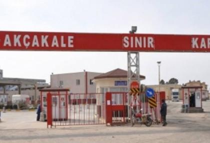 Akçakale Sınır Kapısı geçici olarak kapatıldı