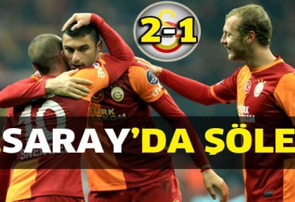 Galatasaray 2 - 1 Trabzonspor