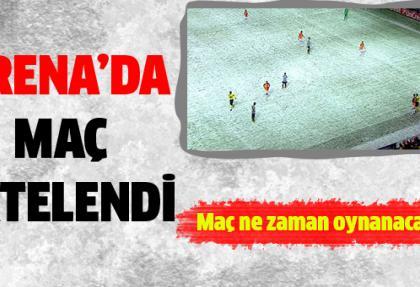 Galatasaray Juventus maçına kar engeli