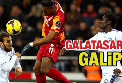 Galatasaray, Kayseri Erciyes'i 3-1 yenerek 2. sıraya yükseldi