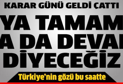 Galatasaray 'Tamam mı, devam mı' diyecek
