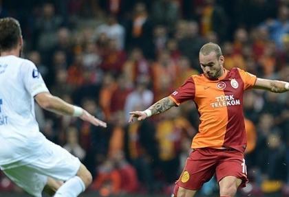 Galatasaray'a Sneijder şoku