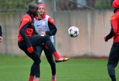 Galatasaray'da Juventus mesaisi başladı