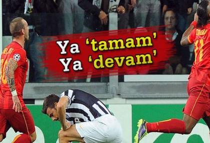 Galatasaray'ın Şampiyonlar Ligi'nde kader gecesi
