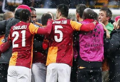 Galatasaray'ın zaferi dünya basınında