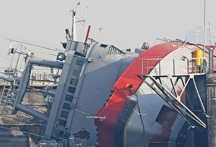 İzmir'deki römorkör kazası