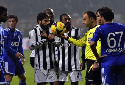 Kasımpaşa-Beşiktaş maçı hakeminin raporu