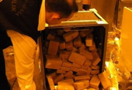 Kocaeli polisi 120 kilo eroin ele geçirdi