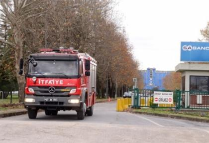 Kordsa'da yangın paniği