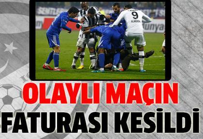 Olaylı Kasımpaşa - Beşiktaş maçına ağır fatura